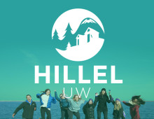 Hillel UW Rebrand and Website