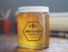 J Bee's Honey Farm Branding